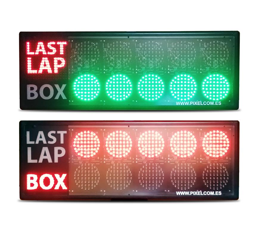 Luces de salida para karting