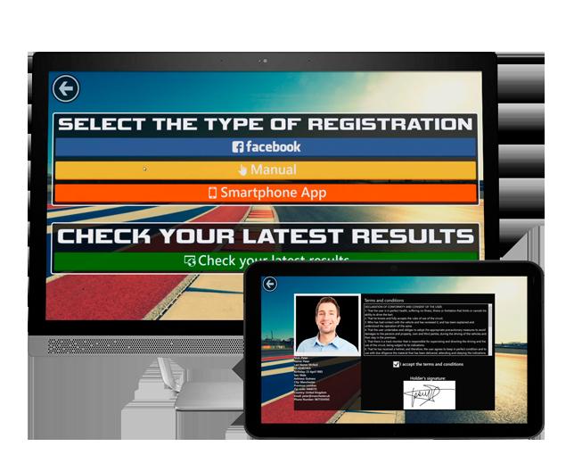 Advanced Kiosk Registration