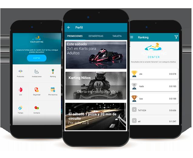 App de socios Karting