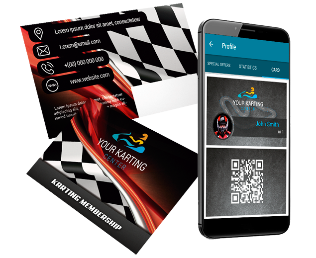 Member card Karting