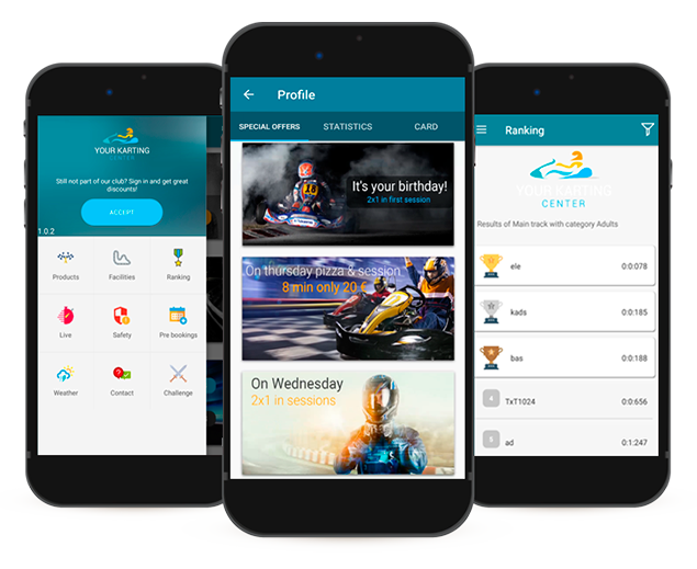 Mobile App karting