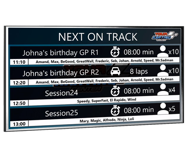 Next track tv output