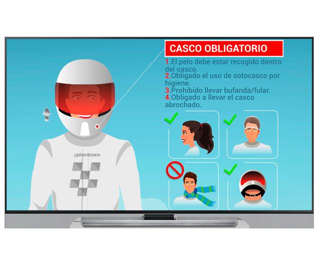 Video Briefing Karting